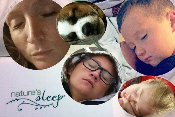 Sleepy Heads love #NaturesSleep #sponsored