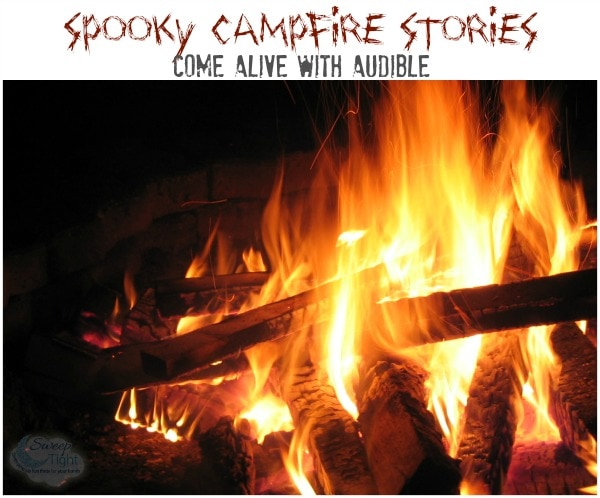 Spooky Campfire Stories Come Alive with Audible