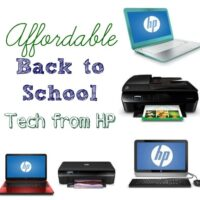 Affordable Technology for Back to School from HP