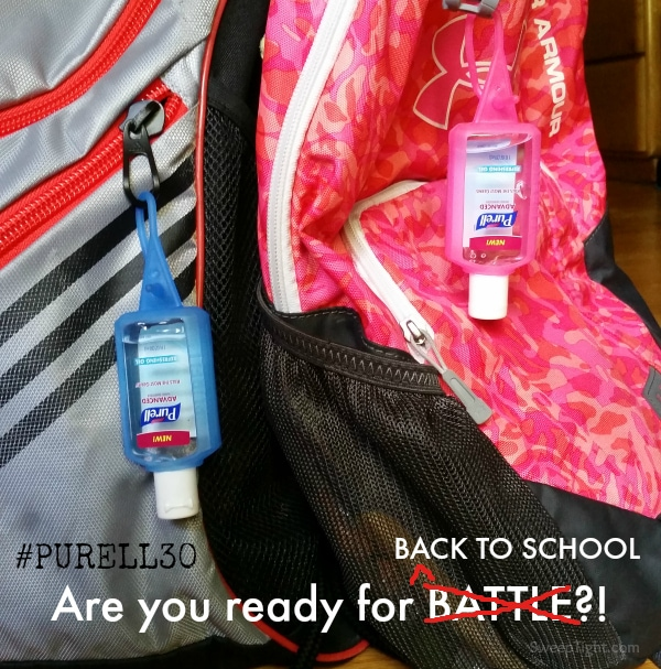 Start This School Year Strong and Battle Ready #PURELL30