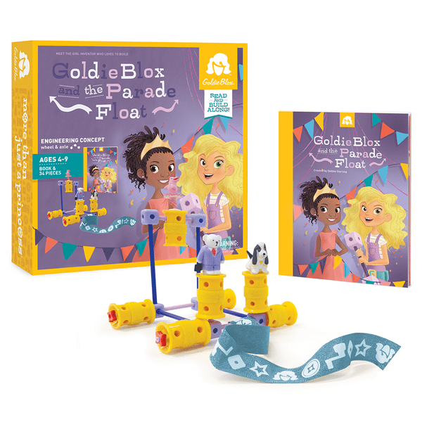 GoldieBlox toys teach your girls to engineer creatively #LookatGoldie