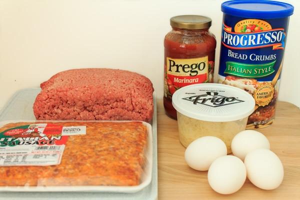 Slow Cooker Meatballs Ingredients
