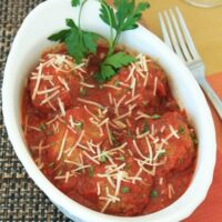 Slow Cooker Meatballs Recipe | Feather Pixels Blog