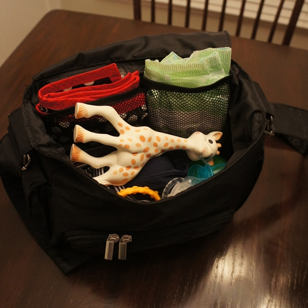Small Diaper Bag with Lots of Space