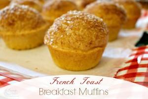 French Toast Breakfast Muffins Recipe