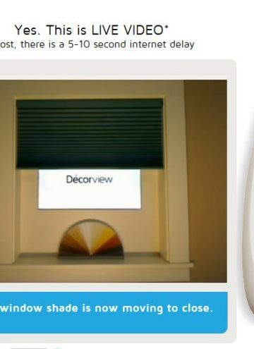 Home Automation with Motorized Window Treatments