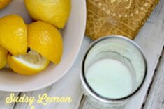 DIY Sudsy Lemon Soap Recipe and Palmolive Sweepstakes