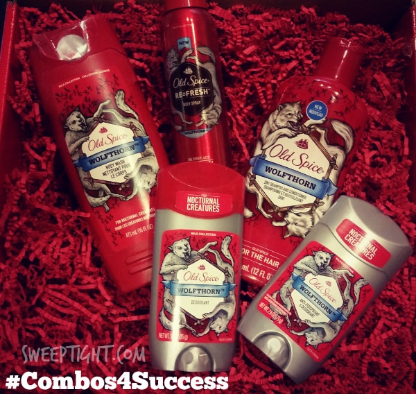 Old Spice products #Combos4Success (sponsored)