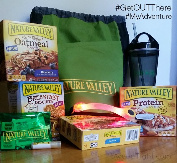 Take the No Barriers Pledge with Nature Valley #GetOUTThere #MyAdventure