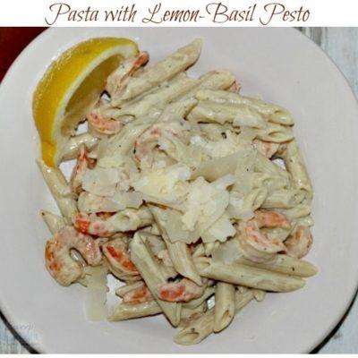 Pasta with Lemon-Basil Pesto Recipe