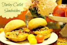 Turkey Cutlet Sandwiches Recipe
