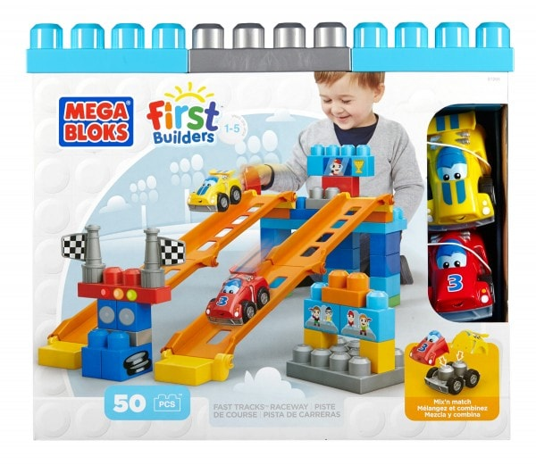Mega Bloks First Builders Fast Tracks