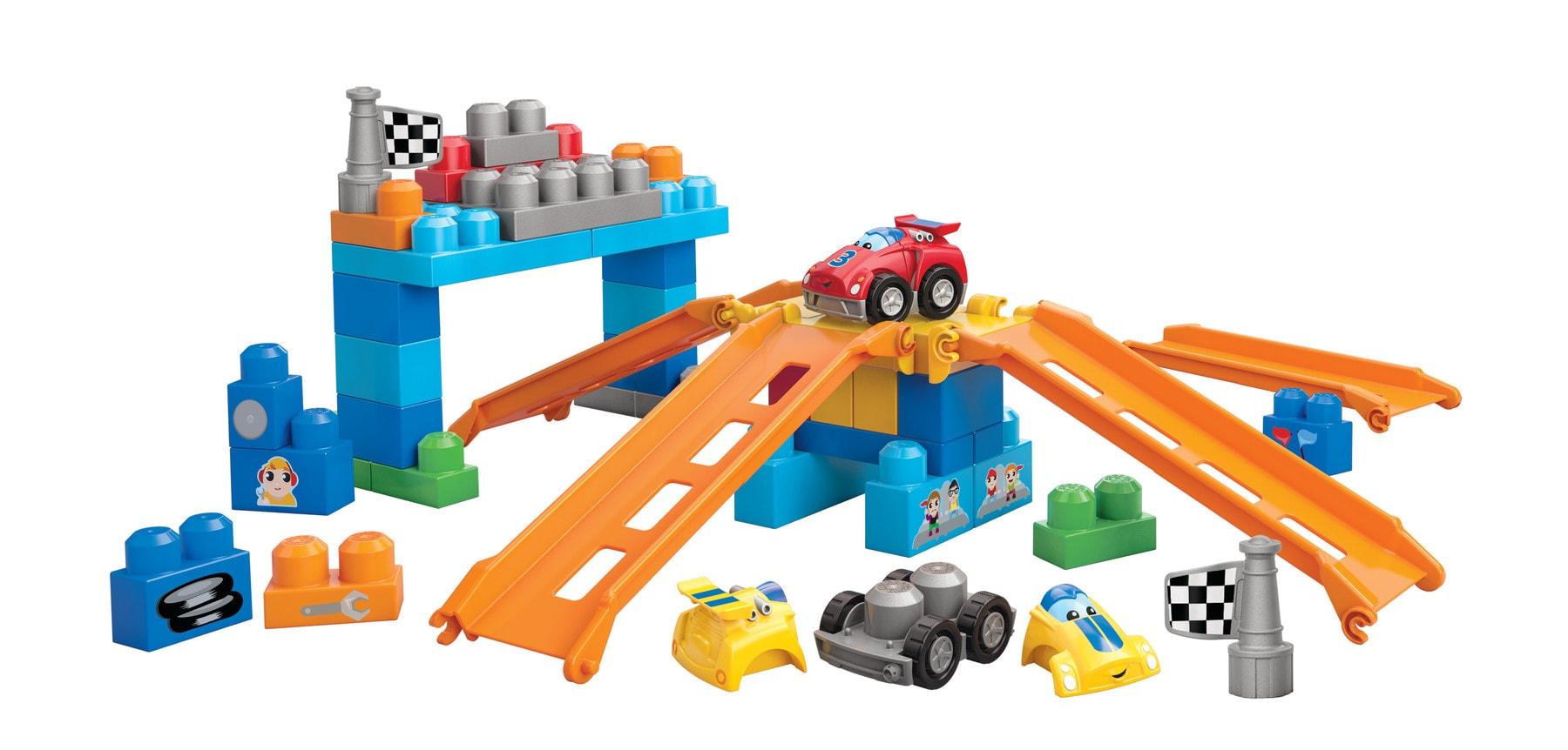 Mega Bloks First Builders Fast Tracks
