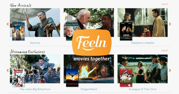 Watch your favorite movies on Feeln