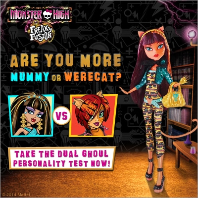 Meet the Monster High Freaky Fusion Dolls