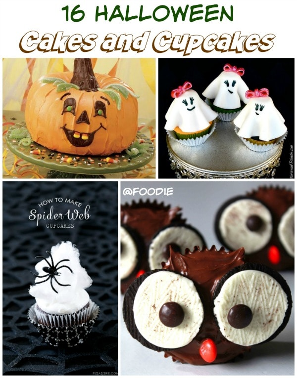 16 Halloween Cakes and Cupcakes Recipes