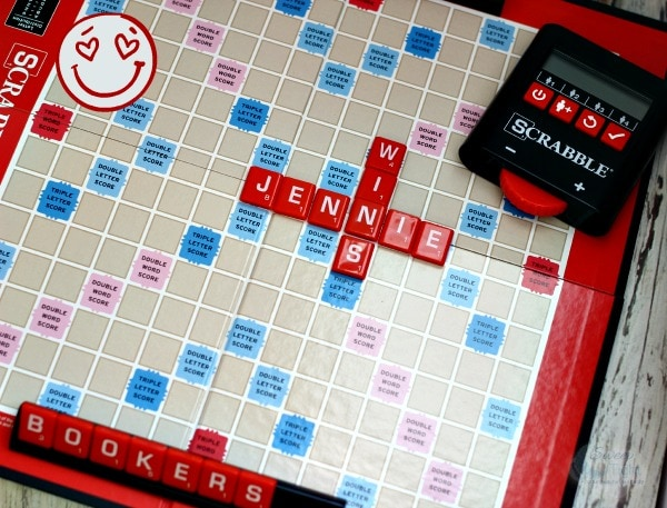 Electronic scoring Scrabble #Hasbro