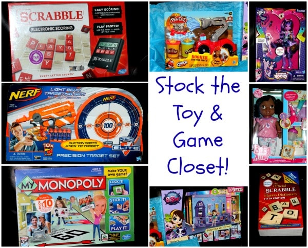 Time to Stock the Game and Toy Closet with Hasbro #Hasbro