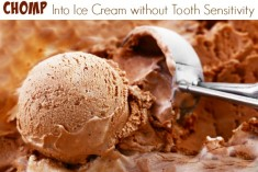 Bite Into Ice Cream without Tooth Pain #SensiStopStrips