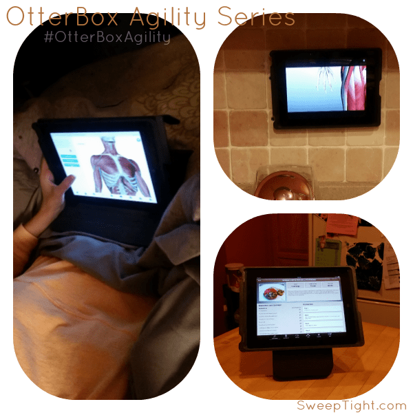 iPad with #OtterBoxAgility series is the BEST!