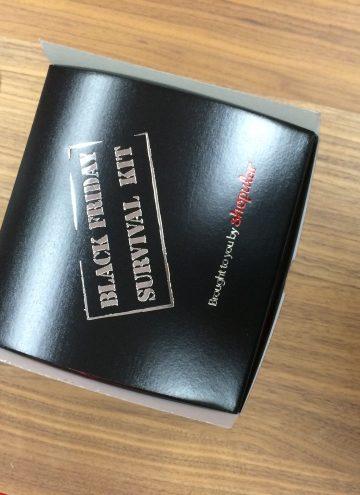 Black Friday Survival Kit from Shopular