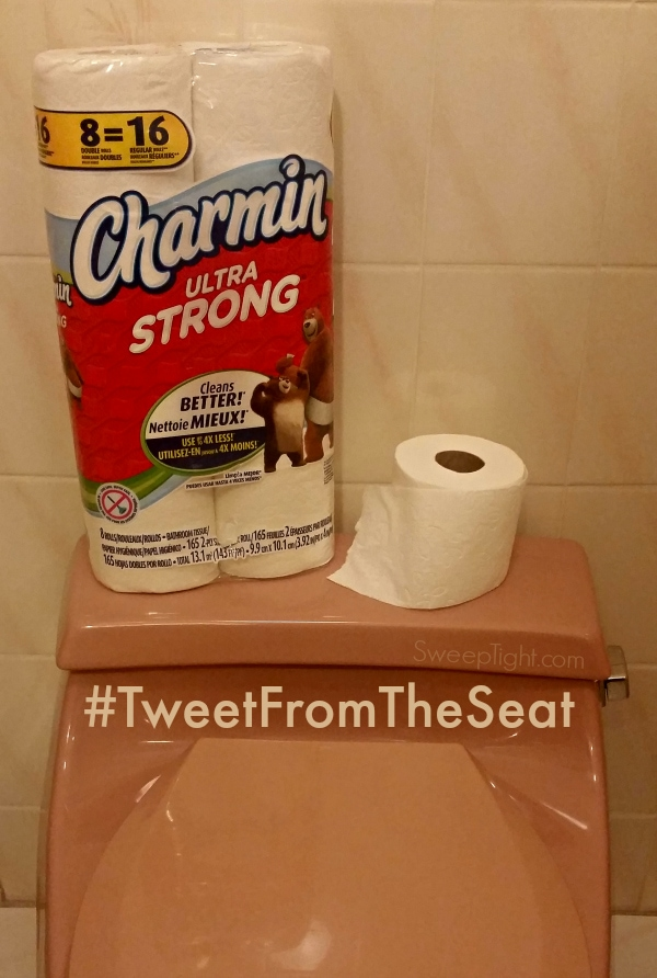 Charmin is guaranteed clog-free and septic-safe #TweetFromTheSeat #MC (sponsored)