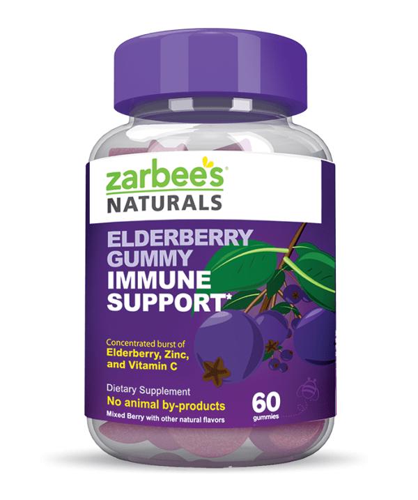 Zarbee's Naturals Elderberry Gummies #ImmuneSupportZarbees #MC (sponsored)