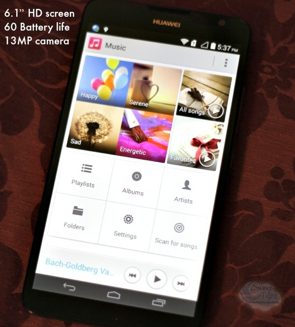 60 Hour Battery Life with Huawei Ascend Mate 2