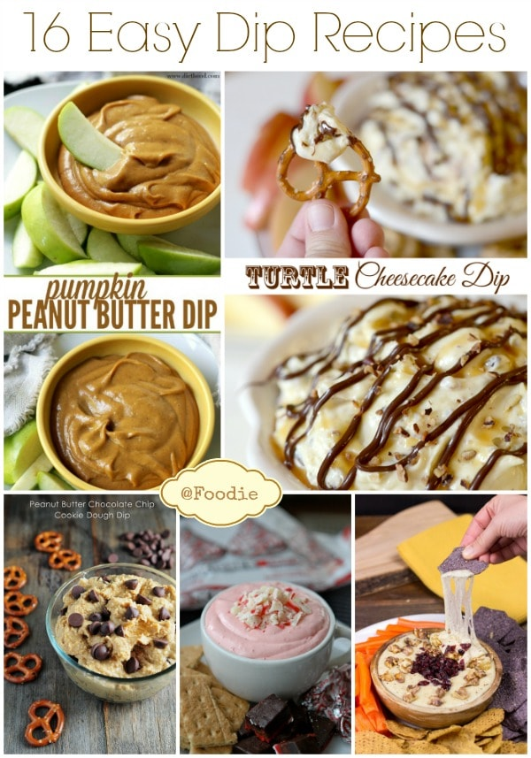 Easy Dip Recipes for Appetizers