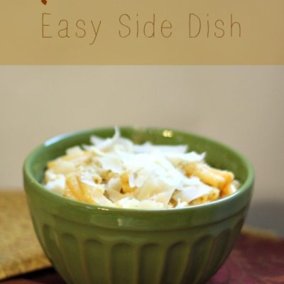 Mac and Cheese Pasta Side Dish Recipe