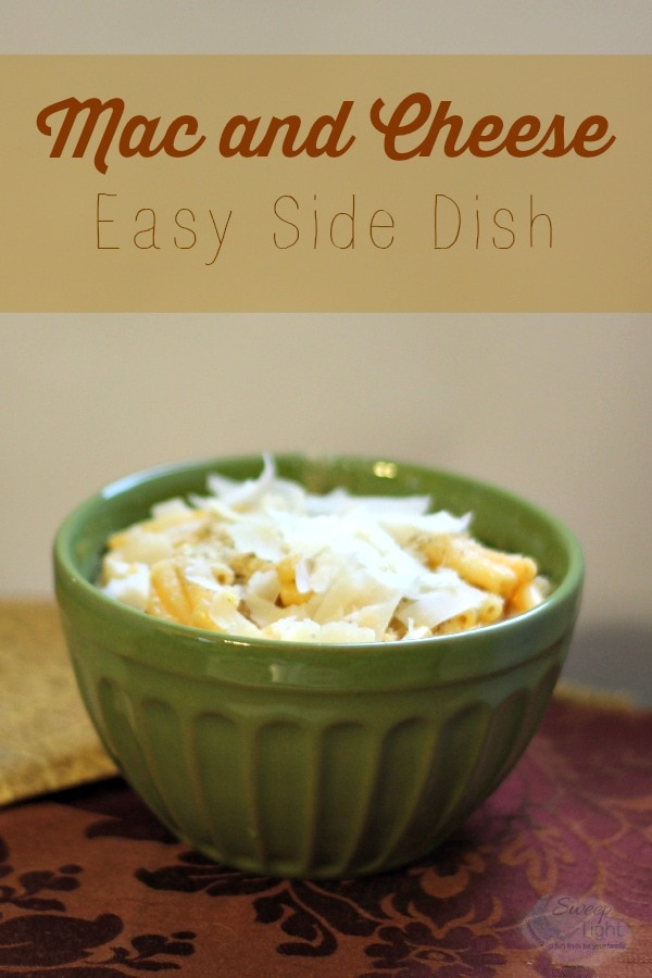 Mac and Cheese Pasta Side Dish Recipe