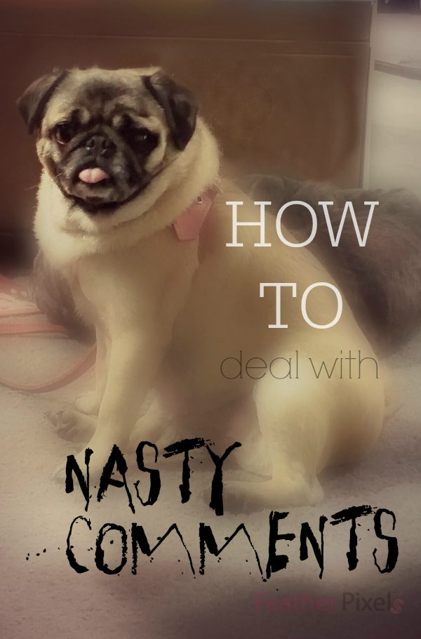 How to Handle Nasty Blog Comments