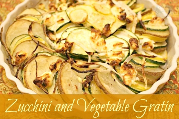 Zucchini and Vegetable Gratin Recipes