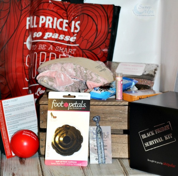 Black Friday Survival Kit from Shopular