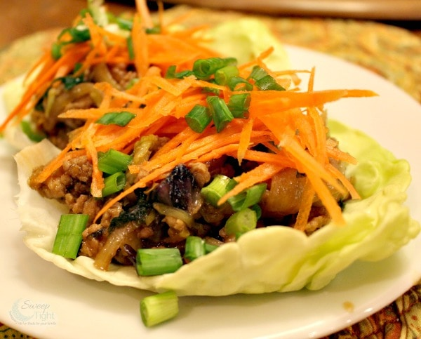Turkey Lettuce Cups Recipe