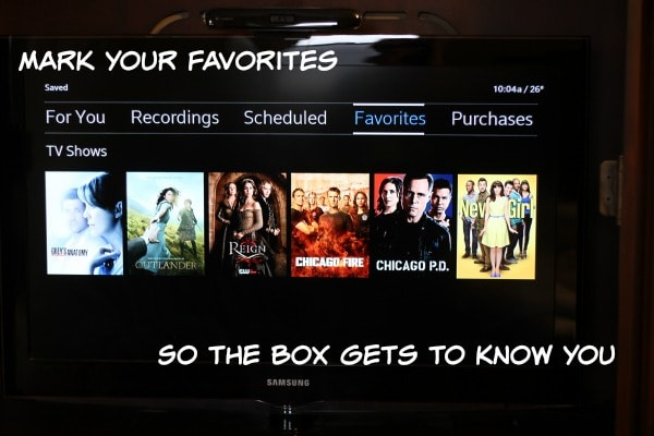 Our Favorite XFINITY X1 Features | A Magical Mess
