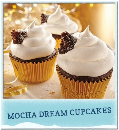 Mocha Dream Cupcakes #CookingUpGood