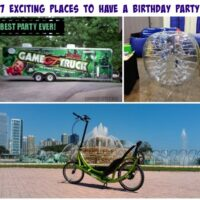 7 Exciting Places to Have a Birthday Party