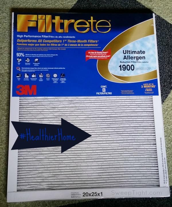 Transform your home into a Healthier Home with Filtrete! (spon) #HealthierHome