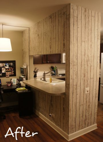 Wallpapering an Accent Wall adds Personality to a Room