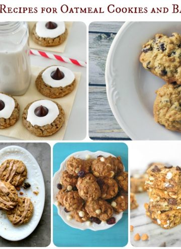 16 Recipes for Oatmeal Cookies and Bars