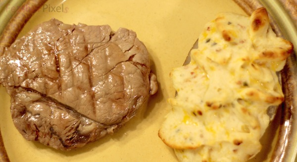 Steak and potatoes from Omaha steaks