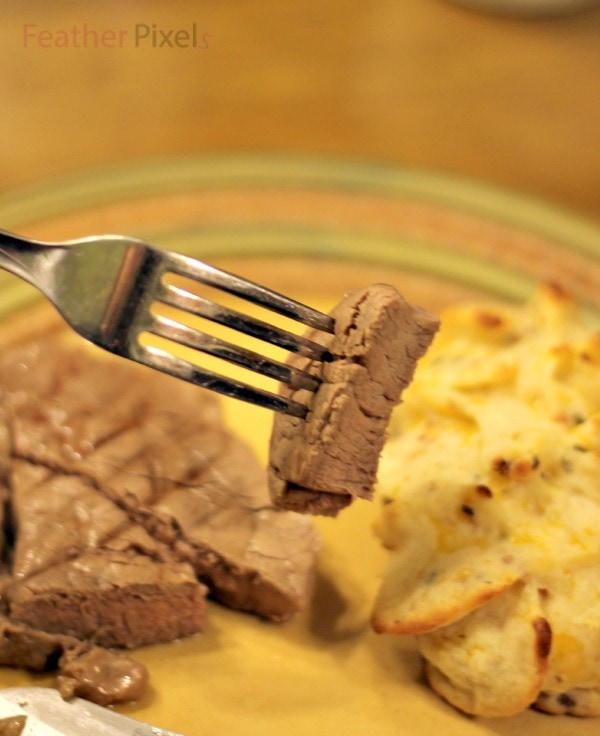 Steak from Omaha Steaks