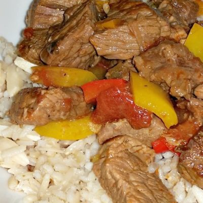 One Pot Pepper Steak the Man Way