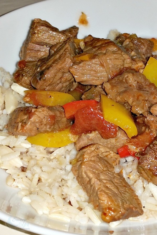 Pepper Steak the Man Way