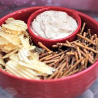 Chips n' dip bowl from LTD Commodities