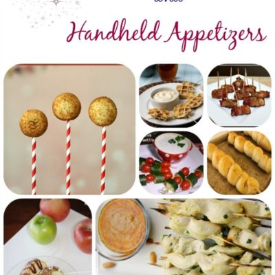Food on a Stick and Handheld Appetizer Recipes