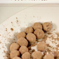 Snickerdoodle Cookie Dough Truffles Recipe
