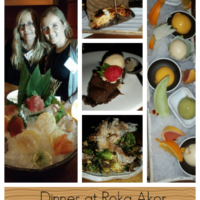 Sushi Dinner in Chicago at Roka Akor