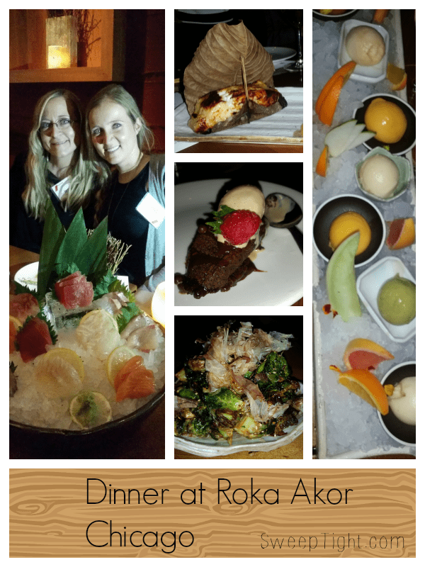 Sushi Dinner in Chicago at Roka Akor